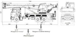 Автокран КС-5547К-5