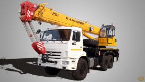 Автокран КС-5576-5-21